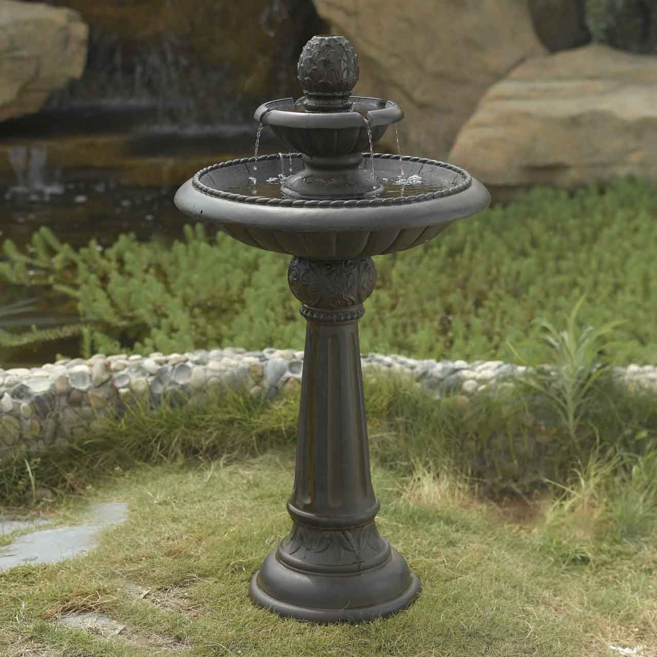Amazon.com : Ananas Pineapple Tier Outdoor Fountain : Floor Standing  Fountains : Garden U0026 Outdoor