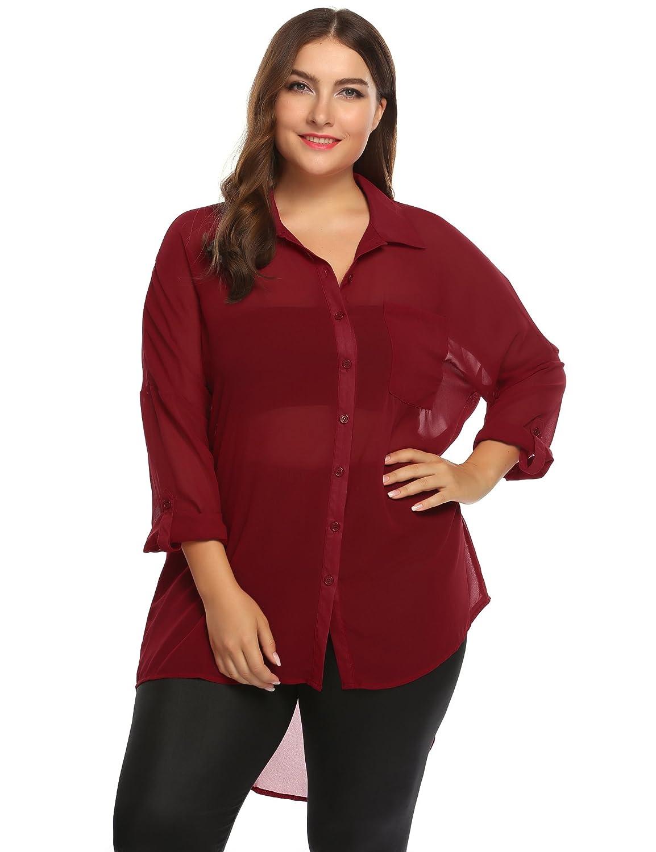 91874c8669e3f0 Top 10 wholesale Plus Size Black Blouse Long Sleeve - Chinabrands.com