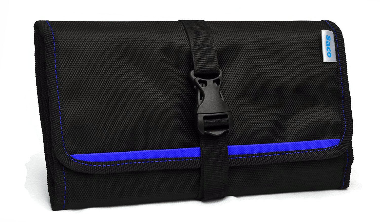 Saco Gadget Organizer Bag for All Gadgets (Blue) product image