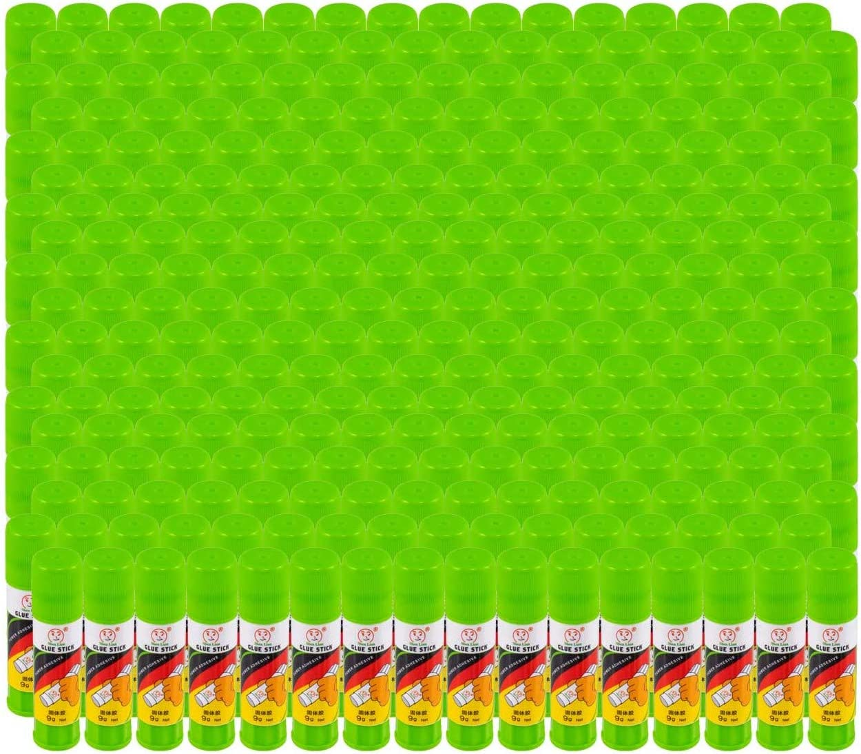288 Count Bulk Glue Sticks All Purpose, Washable .30 OZ Sticks - Case of Wholesale School Supplies