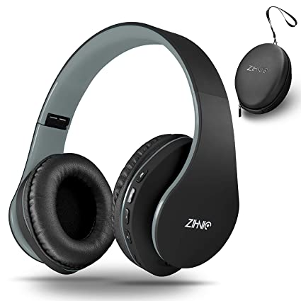 Amazon.com: Zihnic - Auriculares de diadema con Bluetooth ...
