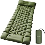 FRETREE Camping Air Sleeping Pad Mat - Foot Press Inflatable Lightweight Backpacking Pad for Hiking Traveling, Durable…