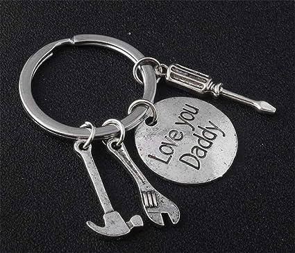 Amazon HeyuniFathers Day Gifts Dad I Love You Keychain