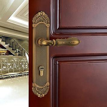 jingzou european simple bedroom door lock zinc alloy door lock bearing lock hardware locks - Bedroom Door Lock