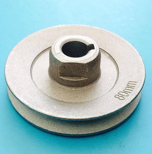 Máquina de coser 80 mm Polea 15 mm Eje: Amazon.es: Hogar