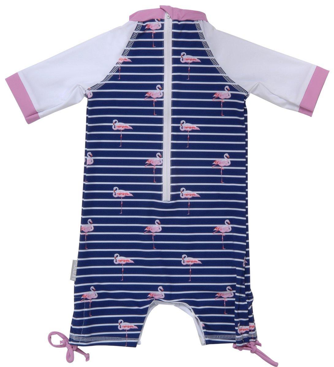 FEDJOA Traje de Ba/ño con Protecci/ón UV para beb/é Lisa Rose