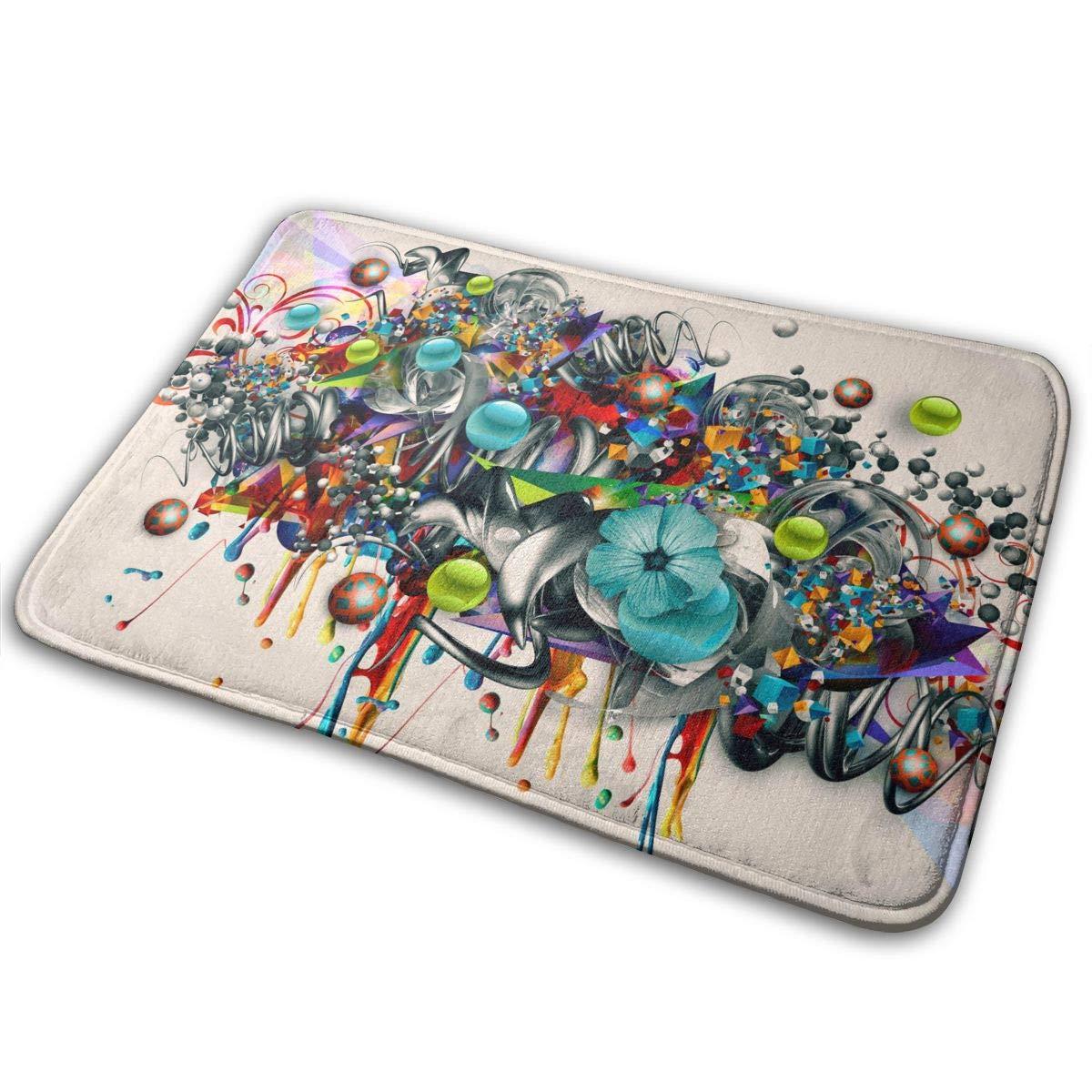 Amazon.com: Chappie Abstract Graffiti Carpet Area Rug Soft ...