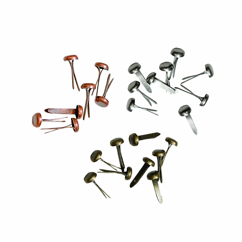 Advantus idea-Ology lang Verbindungselemente Nickel antik//Messing//Kupfer