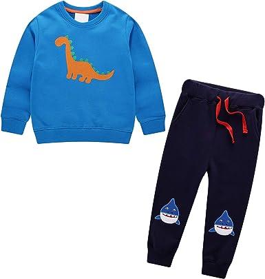 Conjuntos Niños Deportivos Ropa para Bebé Niño Niña Traje Otoño Invierno Algodón Casual Animales y Arcoiris Ajustable Cinturón Sudaderas Pantalones Chándal Unisexo Infantil Disfraces 2 3 4 5 6 7 años: Amazon.es: Ropa y accesorios