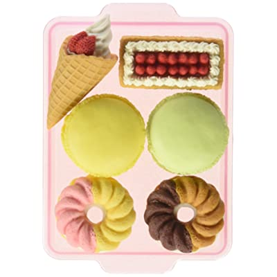 Iwako Japanese French Pastry Eraser Set: Toys & Games