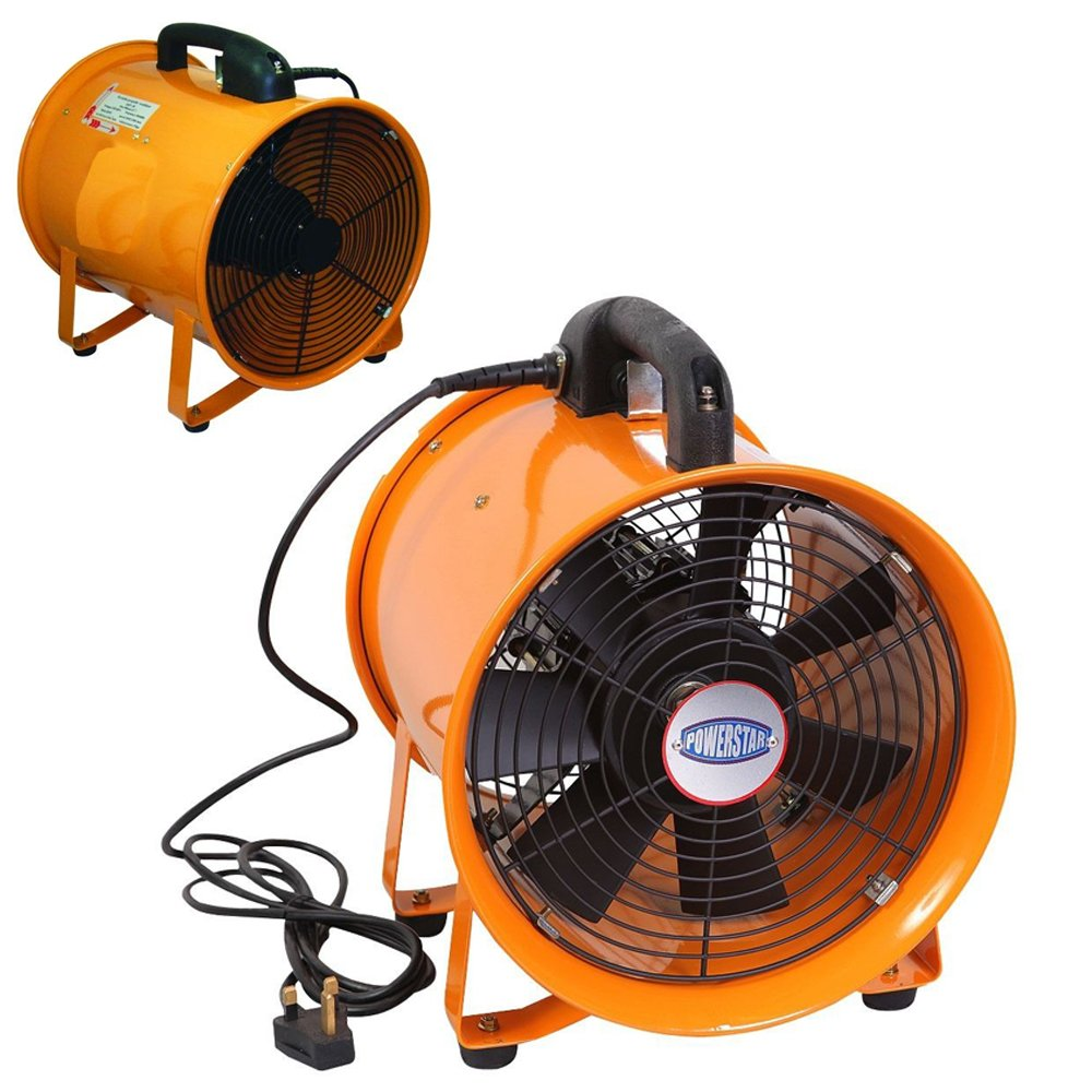 Power Star PORTABLE VENTILATOR AXIAL BLOWER WORKSHOP EXTRACTOR FAN (10 INCHES)