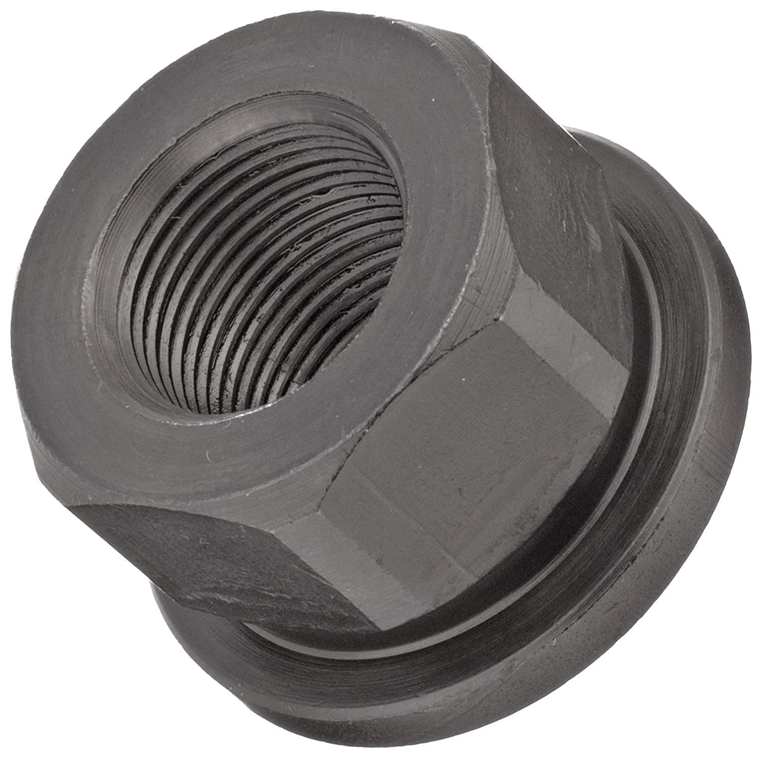 12L14 Steel Hex Nut Class 6H 7//16-20 Threads Made in US 7//16 Width Across Flats Right Hand Threads Pack of 5 Black Oxide Finish Class 6H 7//16-20 Threads 7//16 Width Across Flats TE-CO Grade 8