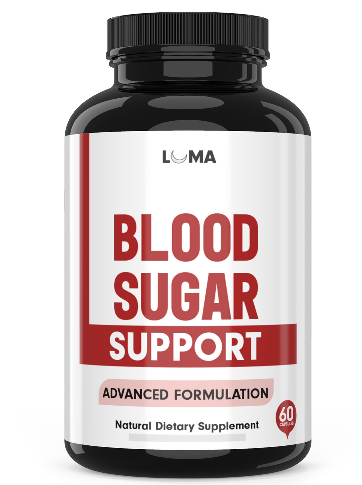 Natural Blood Sugar Support Supplements - Supports Healthy and Lower Blood Sugar - Blood Sugar Stabilizer - Top Glucose Support & Control Supplement (60 Capsules)