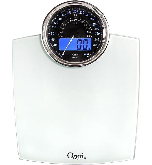 586 opinioni per Bilancia digitale da bagno Ozeri Rev con quadrante elettromeccanico (bianca)