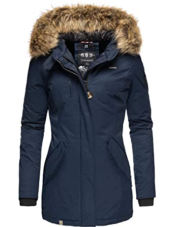 2019 am besten klassische Passform modisches und attraktives Paket Navahoo Nisam Veste d'hiver pour Femme 10 Couleurs XS-XXL
