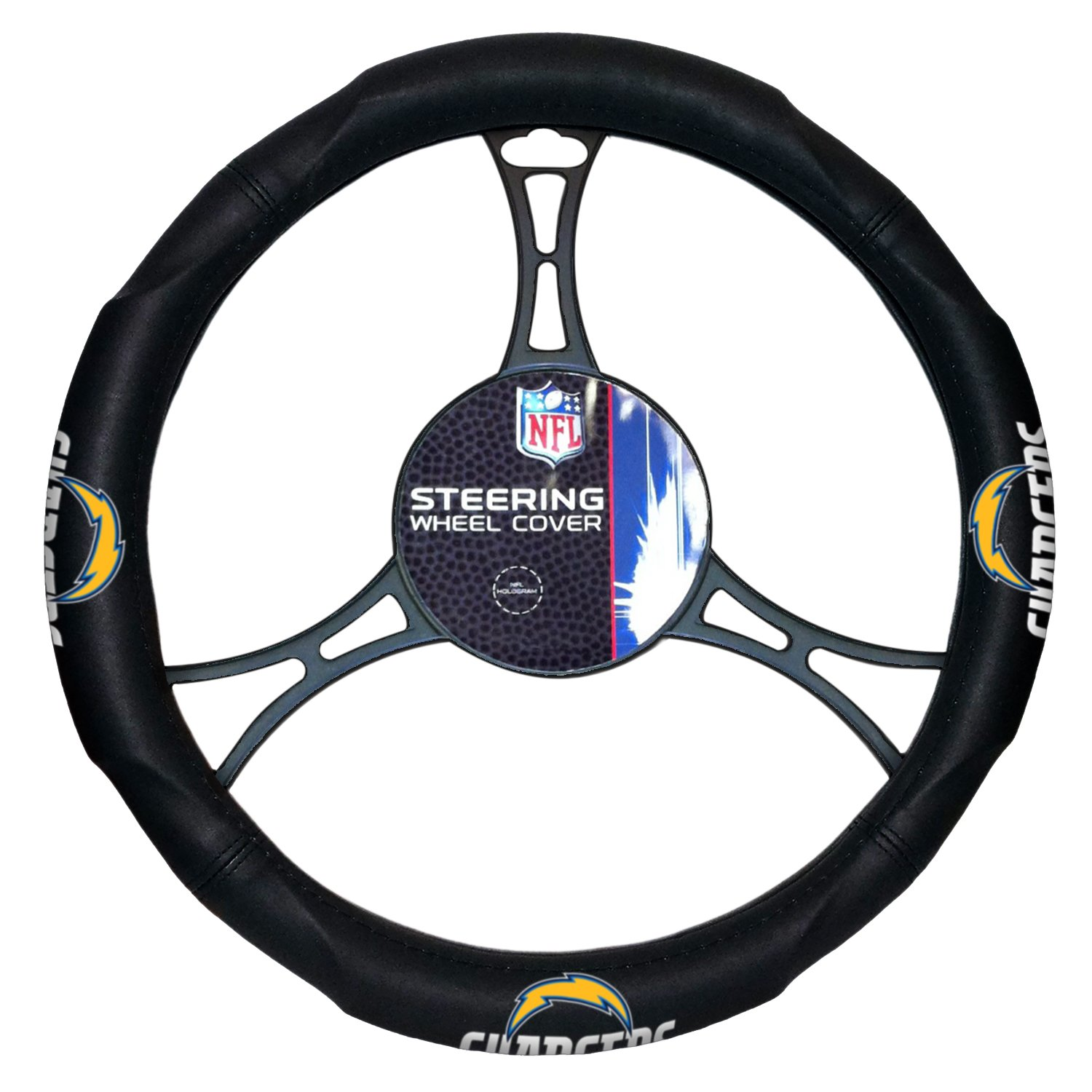 The Northwest Company NFL Unisex Steering Wheel Cover