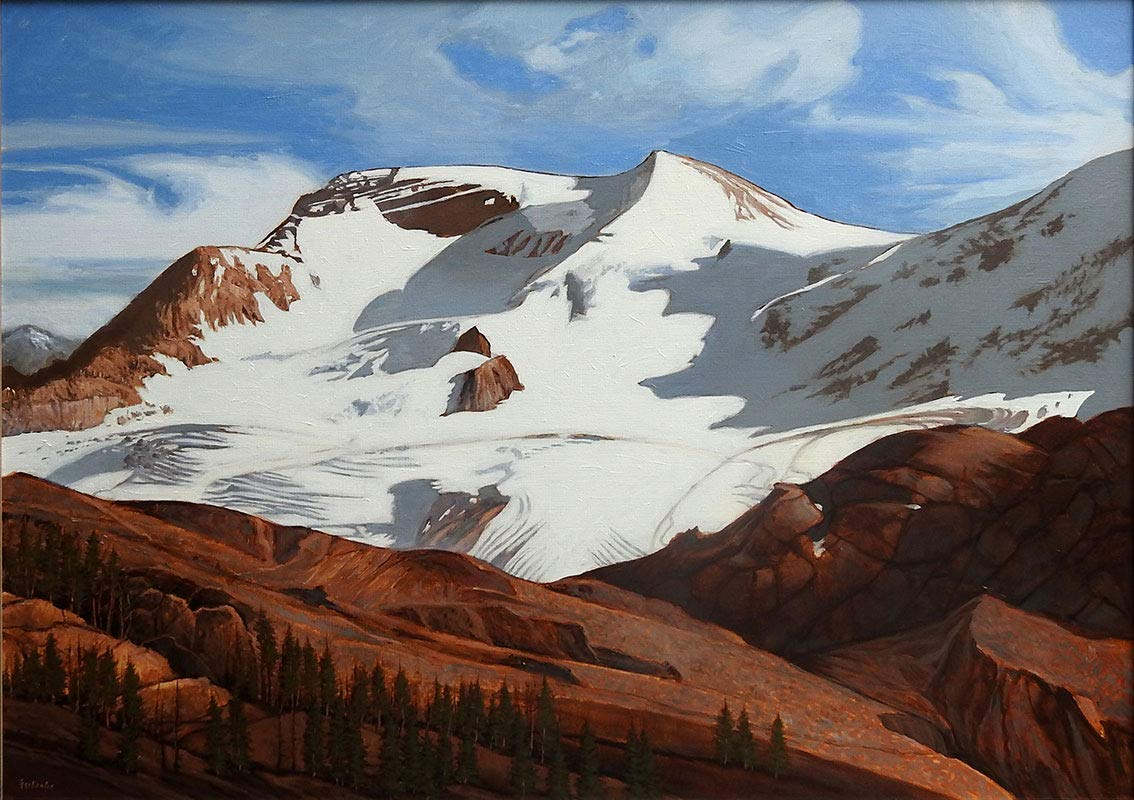 Athabasca Glacier in Summer