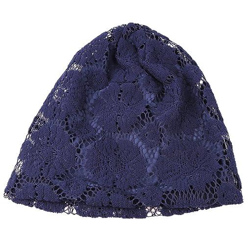 Sharplace Nuevo Sombrero de Mujer de Encaje Floral de Chemo de Turbante Accesorio para Premamá de 5 ...