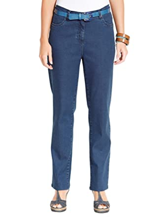 Damen Jeans blue stone washed Gr.48 Sieh an! 655580