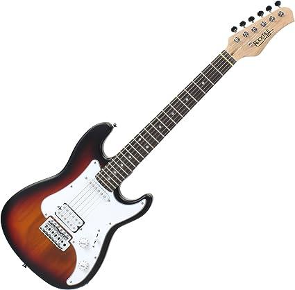 Rocktile Sphere - Guitarra eléctrica infantil, 3/4, sunburst ...