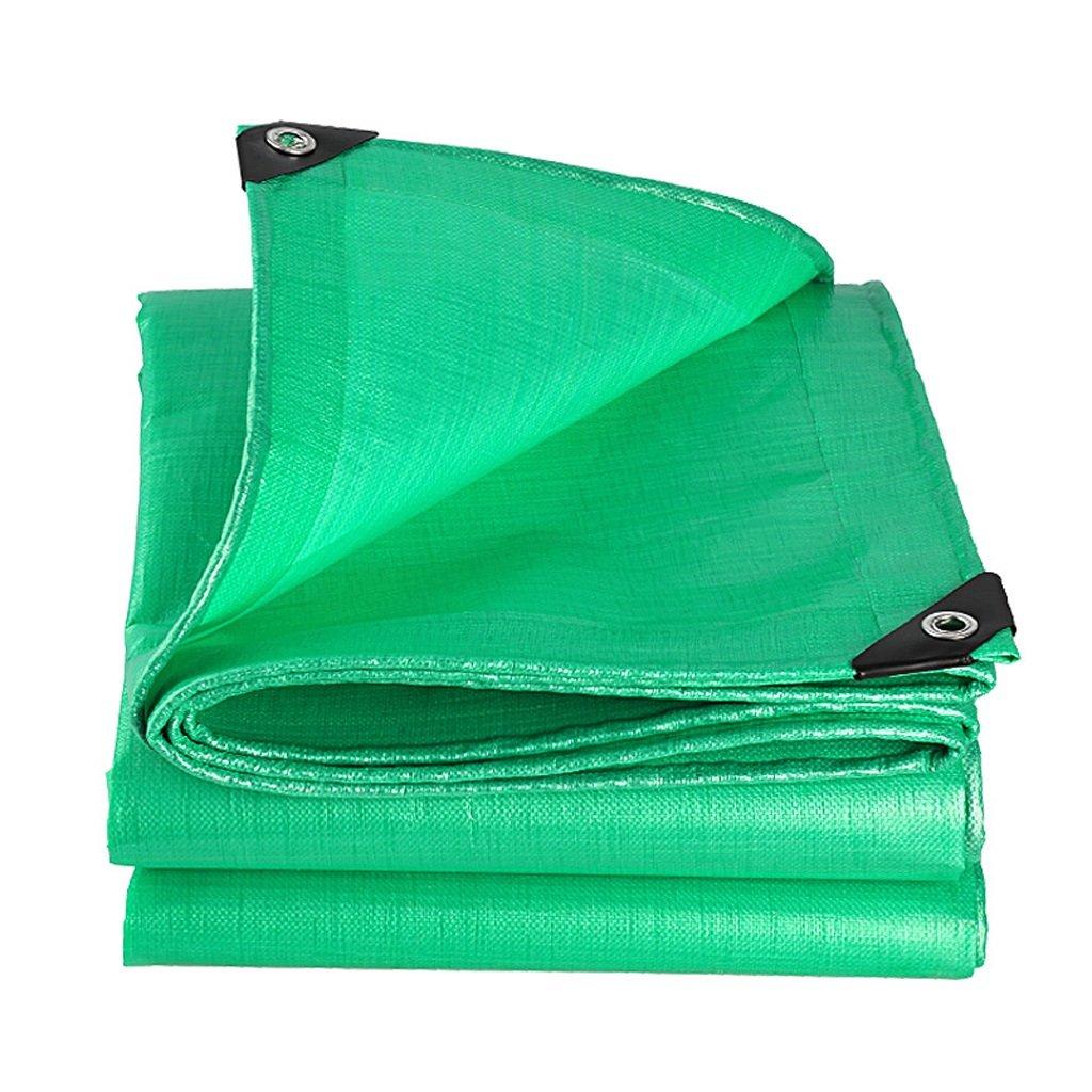 トラック防水布屋外防水日焼け止めターポリン B07FKBJ7J1 3*3m|Green Green 3*3m
