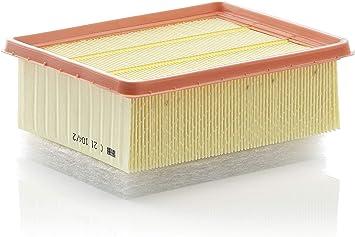 Original Mann Filter Luftfilter C 21 104 2 Für Pkw Auto