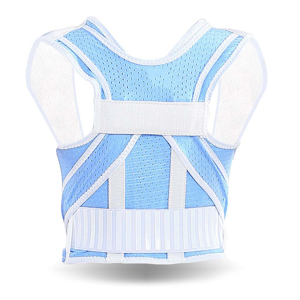 GAIHU Adjustable Back Support Posture Corrector Student Support Posture Correction Belt,L
