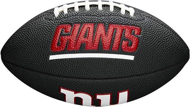 Wilson WTF1533BLXBGB Pelota de fútbol Americano Mini NFL Team Soft ...
