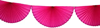 product image for 10 Foot Tissue Paper Bunting Garland (Cerise)
