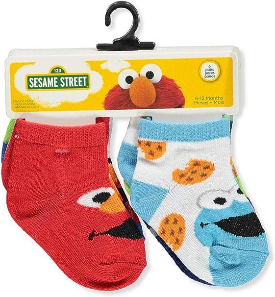 Boys Infant//Toddler Set of 4 Non Skid Socks 6-12 M--12-24 M /& 2-4 Years