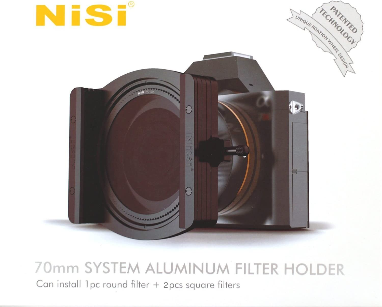 NiSi NIP-FH70-M1 Ikan M1 70mm Filter Holder with Integrated CPL Black