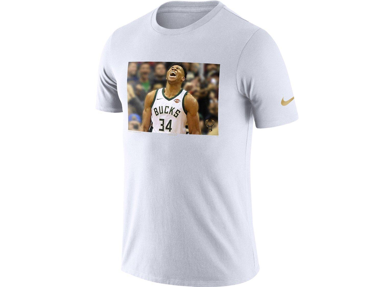 (ナイキ) NIKE NBAプレイヤーモデル Tシャツ 【PLAYER PACK PERFORMANCE T-SHIRT/WHT】 [並行輸入品] B07CZXLTRV Large|ヤニス アデトクンボ ヤニス アデトクンボ Large