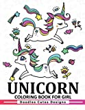 Unicorn Coloring Book for girls: A Super Cute Coloring Book (Kawaii, Manga and Anime Coloring Books for Adults, Teens and Tweens)