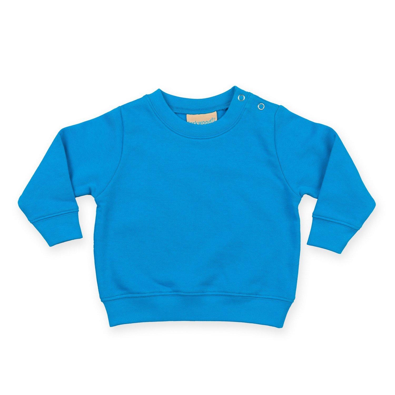 Bleu marine B/éb/é unisexe Sweat uni 3-4 ans Larkwood