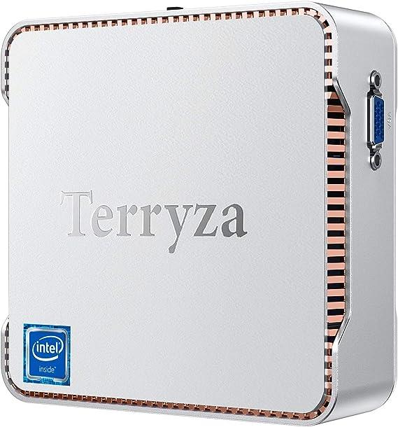 Amazon.com: Mini PC 8GB DDR3/128GB m-SATA SSD Window 10 Pro Intel Celeron N3350 (up to 2.4GHz) Mini Desktop Computer,Support 4K HD, Dual Band Wi-Fi 2.4G/5G,Gigabit Ethernet,HDMI/VGA Port Multi-Display, BT 4.2: Computers & Accessories