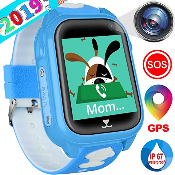 Amazon.com: iCooLive Waterproof IP67 Kids Smart Watch ...