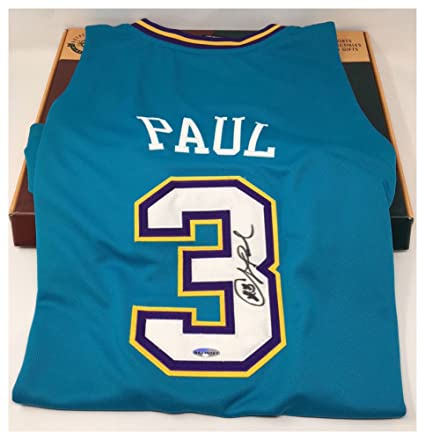 buy online 0a668 eac5a real chris paul new orleans jersey 9a234 c059e