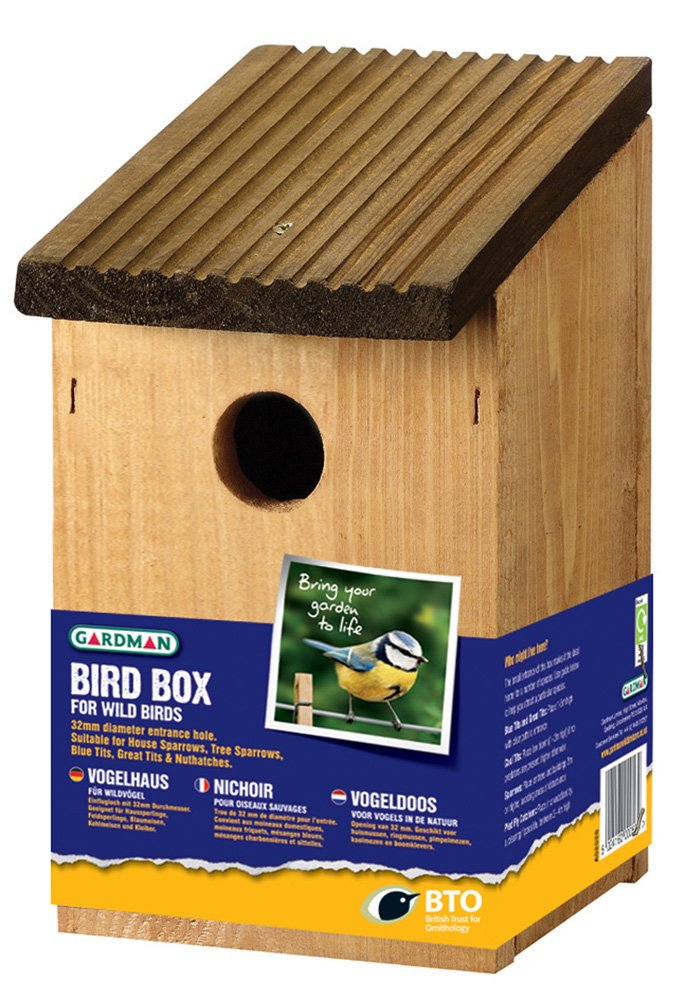 A Wild Bird Nest Box Gardman A02028D