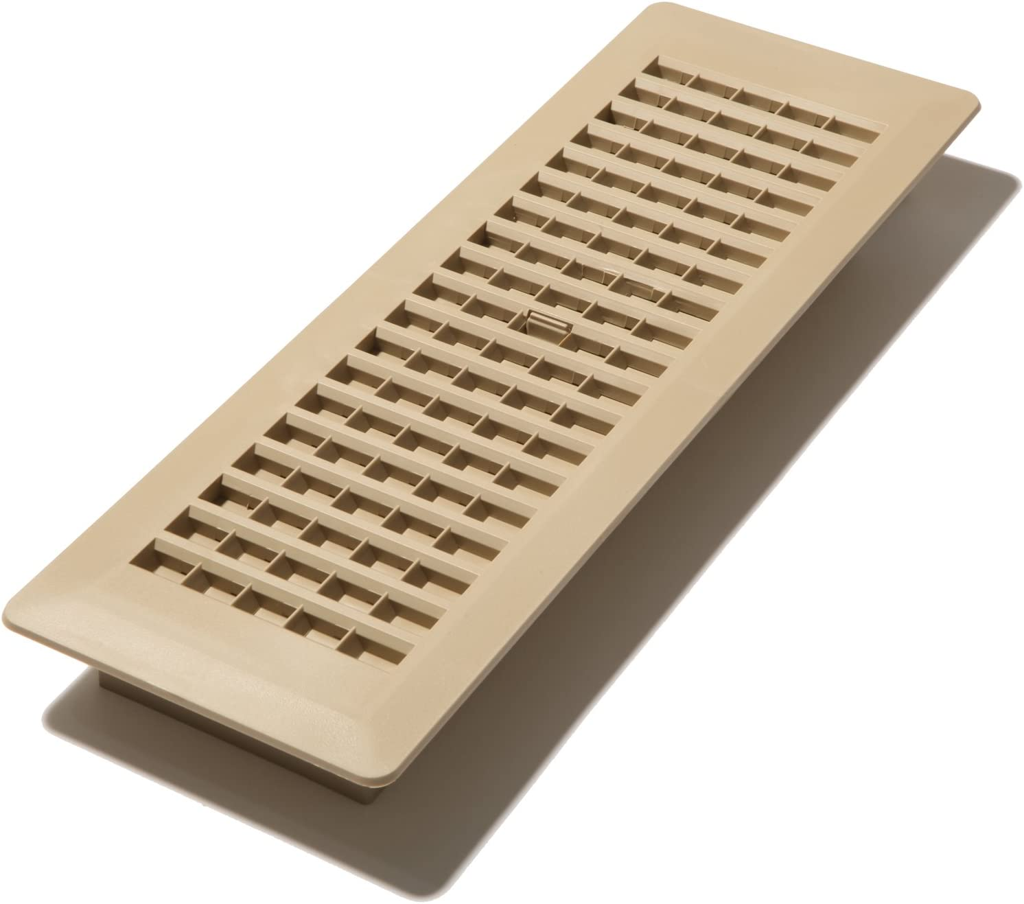 Decor Grates PL414-TA Floor Register, 4 x 14-Inch, Taupe