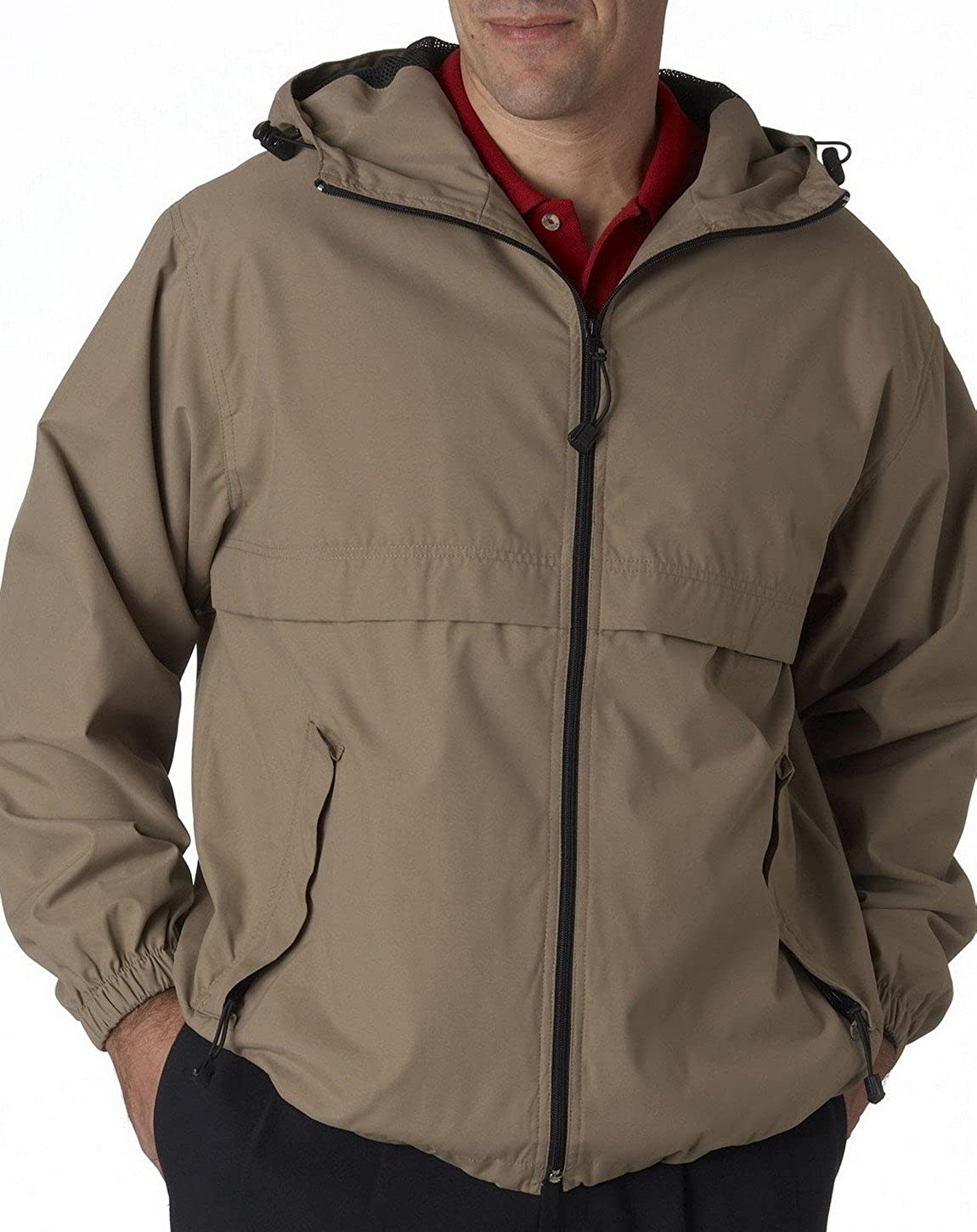 UltraClub 8908 Hooded Zip Jacket