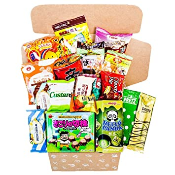 Classic Asian Snack Box | College Care Package | Japanese Candy | Korean  Snacks | Chinese Snacks