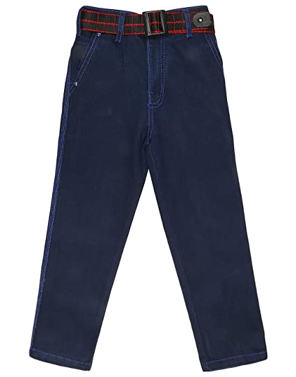 Magic Attitude Boy's Regular Fit Denim Jeans Dark Blue Boys' Jeans at amazon