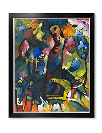Amazoncom Decorarts Picture With An Archer Wassily Kandinsky