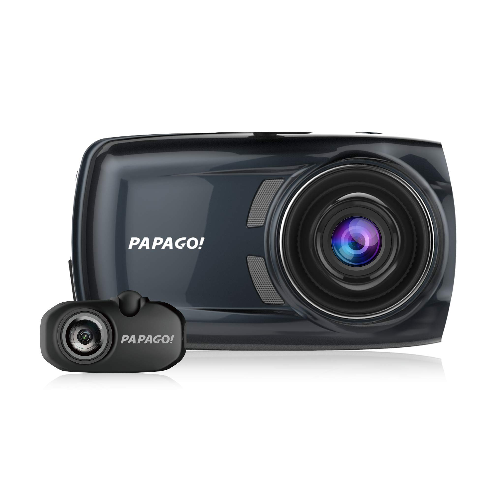 PAPAGO! GoSafe S810 Sony Sensor Dash Cam 2-Channel Free 16GB Micro SD Card by PAPAGO