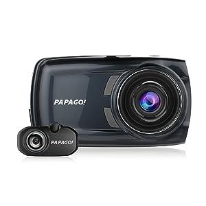 PAPAGO! GoSafe S810 Sony Sensor Dash Cam 2-Channel Free 16GB Micro SD Card