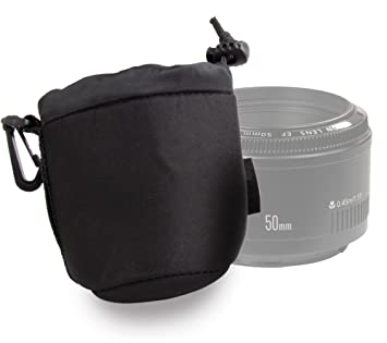 DURAGADGET Funda/Bolsa para Lente Canon EF 50mm f/1.4 USM ...