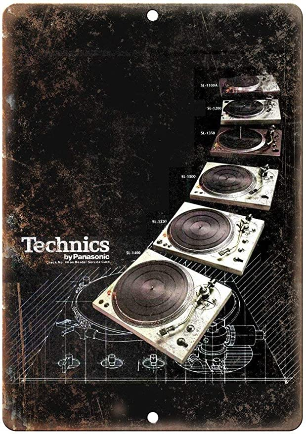 Kilburn Technics Tocadiscos SL DJ Ghetto Blaster Retro Creativo ...