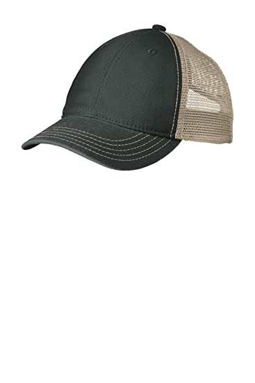 b54df8282b3e20 District Super Soft Mesh Back Cap. DT630 at Amazon Men's Clothing store: