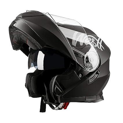 Amazon.es: Westt Torque X - Casco De Moto Modular Integral con ...