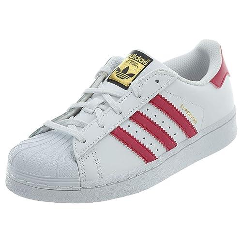 adidas Originals Girls' Superstar Foundation EL C Skate Shoe ...